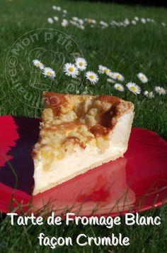 * Ça faisait des jours que j'avais des envie de gâteau au fromage blanc et dans mes recherches pour une recette, je suis passé entre autres chez ma collègue Manue. Sa version avec le Crumble m'as ...