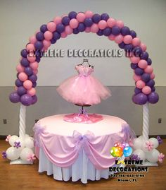 Balloon arch under the sea and little mermaids on pinterest for Balloon decoration course