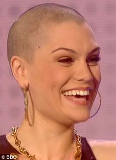 Jessie J shaves her head for Comic Relief 2013 charity