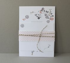 Wedding Invitation Design and Stationery {paper and dot}