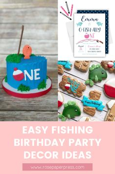 The best ideas for an O-Fish-Ally One Fishing 1st Birthday Party. Featuring invitations, cake, cookies, banners, decorations, thank you cards, and more. Boy fishing birthday or girl fishing birthday. 1st Birthday Party Invitations, First Birthday Decorations, Kids Birthday Themes, Boy Birthday Parties, Girl Fishing, Fishing Boots, Fishing Tackle, Fishing Games, Fishing Guide