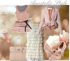 """""""Proverbs 31:10; for the love of ruffles; Apostolic Style"""" by emmyholloway on Polyvore"""