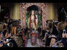 ROBERTO CAVALLI FALL/WINTER 2016 - 2017 WOMEN'S COLLECTION - BACKSTAGE VIDEO - YouTube
