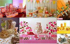 Ideas para mesas de dulces... Son un hit!