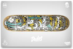 skateboard designs - DXTR and Dudes Factory