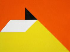 Geometric Abstraction Painting #120. Acrylic on board. October 23 2014