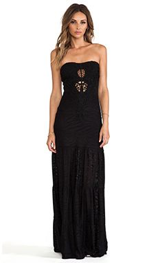 I'm obsessed with maxi dresses at the moment - sky Kinthea Maxi Dress in Black