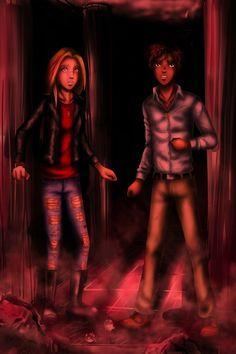 Explosion on Christmas Eve by FlockeInc Sadie and Carter Kane and The Red Pyramid