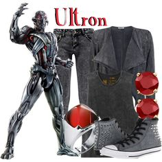 Ultron by mcu-marvel-creations on Polyvore