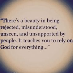I wouldn't say there's beauty (maybe ultimately yes, but def not at first glance!), there is growth that occurs and a greater reliance upon God. Faith Quotes, Bible Quotes, Bible Verses, Me Quotes, Motivational Quotes, Inspirational Quotes, Qoutes, Scriptures, Oprah Quotes