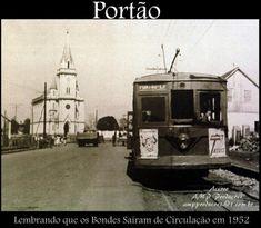 Foto antiga do bairro Portão em Curitiba