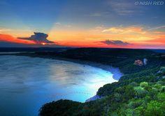 Lake Travis in Austin, Texas. Oh The Places You'll Go, Places To Travel, Places To Visit, Austin Texas, Visit Austin, Wonderful Places, Beautiful Places, Lake Travis, Texas Travel