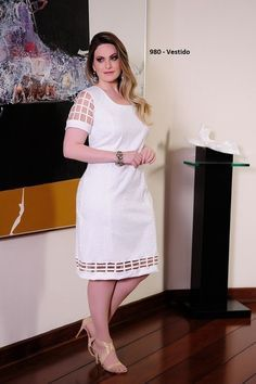 Vestido Sleeve - Cassia Segeti - Moda Evangélica e Roupa Evangélica: Bela Loba