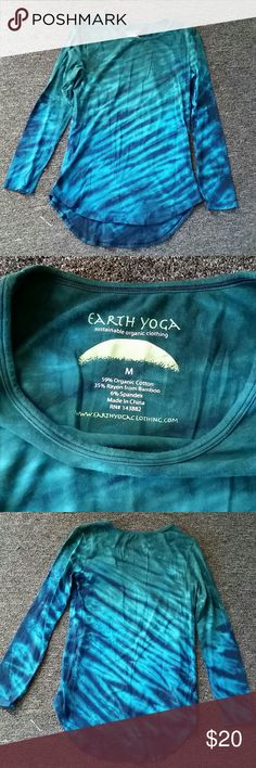 Tiedye Longsleeve New condition, no stains, rips, or signs of wear Earth Yoga Tops Tees - Long Sleeve