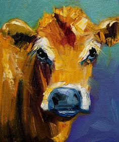 A cow print for the laundry room... Cause who could hate doing laundry when you look at this sweet girl