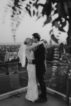 An amazing scenic Spokane backyard wedding including wedding florals inspiration, sunset bridal portraits, wedding dress ideas, intimate couples photography & more! Claudia Noelle Photography