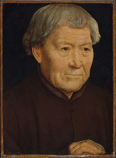 Portrait of an Old Man // Hans Memling c1475 -