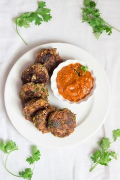 Banana Blossom Cutlets are vegan patties made from banana flower and white peas