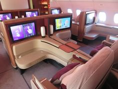 Qatar Airways First Class Doha to Paris (+Al Safwa lounge) # travel Private Jet Interior, Flying First Class, First Class Flights, Argent Paypal, Flight Prices, Futuristic Interior, Major Airlines, Travel Expert, Viajes