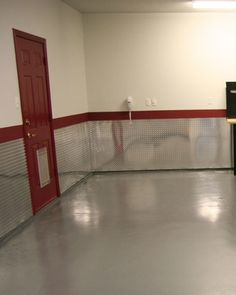 Enhance the walls of your garage, business, or man cave with the look of aluminum diamond plate. Find 48 X 120 cosmetic diamond plate sheets at CutsMetal. Garage Paint, Garage Walls, Garage House, Garage Shop, Garage Gym, Garage Cupboards, Small Garage, Garage Doors, Garage Studio