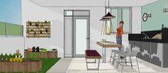 Área Privativa Gourmet - Projeto Decora