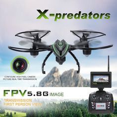 NEW Live Video Camera Drone 2Mp HD Real Time FPV Camera Hold Mode 5.8 GHz 360 FL #Kbrand