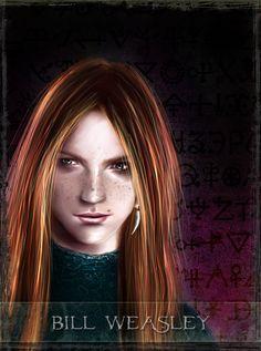 B. Weasley - tarot series by Patilda.deviantart.com on @DeviantArt