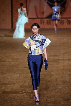 Ne-Tiger collection,Mercedes-Benz China Fashion Week Spring/Summer 2015 http://www.chinesefashionstyle.com/