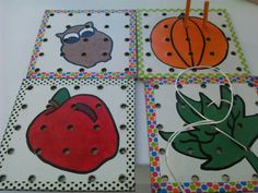 Check out this item in my Etsy shop https://www.etsy.com/listing/211245509/2-pegboard-2-lacing-cards-sold-as-a-set