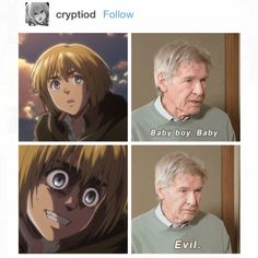 Shingeki no kyojin Armin - A flawless description of Armin.