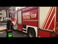 Fire breaks out at hospital in Istanbul
