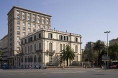 Palau Robert #Barcelona en la actualidad, Paseo de Gràcia con Avenida Diagonal