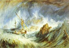 A Storm (Shipwreck) - William Turner
