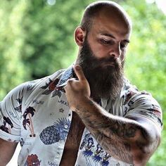 Horny Long Beards — beardelicious: Pierre, at Bald With Beard, Bald Men, Hairy Men, Bearded Men, Scruffy Men, Hairy Hunks, Great Beards, Awesome Beards, Moustaches
