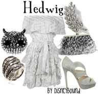 Harry Potter Hedwig outfit!!! :)