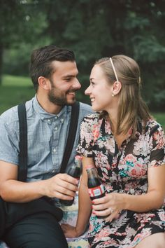 Hipster engagement picnic  |  The Frosted Petticoat