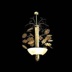 Paavo Tynell (1890-1973) Snowfolke Ceiling Lamp, Ceiling Lights, Selling Paintings, Interior Design Studio, Lightning, Halo, Contemporary Art, Sculptures, Art Gallery