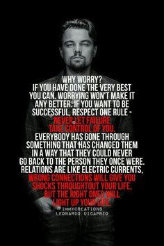 Leonardo Di Caprio Quote