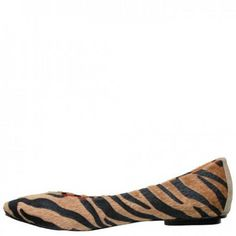Ed Hardy Downtown Flat Shoe for Women - Tan