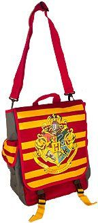 Harry Potter Hogwarts Gryffindor Shoulder Messenger Bag Use for School Backpack. Measuring 16 inches tall by 13 inches wide and 6 inches deep, with plenty of pockets and a drawstring closure.