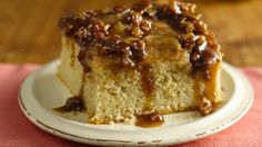 Craving cake but eating gluten free? Try our gooey caramel apple cake thanks to Betty Crocker® Gluten Free cake mix.