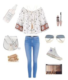 Untitled #1 by ella-82 on Polyvore featuring polyvore, fashion, style, MANGO, Paige Denim, Converse, Yoki, SPINELLI KILCOLLIN, Isabel Marant, Maybelline and clothing