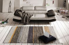 Silver Grey Rug, Mombasa, Types Of Rugs, Grey Rugs, Hand Weaving, Wool Rugs, Colours, Flooring, Pure Products