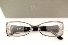54a3842abad Brand New Christian Dior Eyeglass Frames 3757 27H Ruthenium 100 Authentic