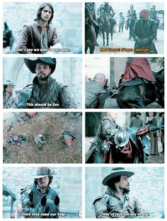 The Musketeers - 1x08 - The Challenge, Oh yes, very shy <3