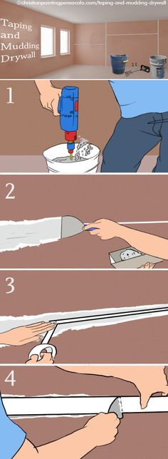Drywall Taping And Mudding : Good tutorial for scribing skirt boards thisiscarpentry