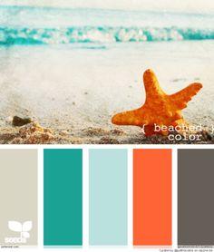 Beach House Color Palettes