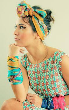 9 FORMAS DE USAR LENÇOS QUE VÃO FAZER A SUA CABEÇA! http://superela.com/2014/09/24/9-formas-de-usar-lencos-que-vao-fazer-a-sua-cabeca/