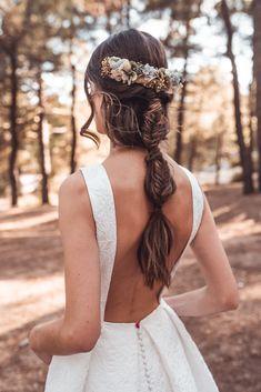 5 Top Trends in Bridal Hairstyles Loose Hairstyles, Bride Hairstyles, Pretty Hairstyles, Hairstyle Ideas, Bridal Braids, Bridal Hair, Hair Flow, Hair Extensions Best, Sleek Ponytail
