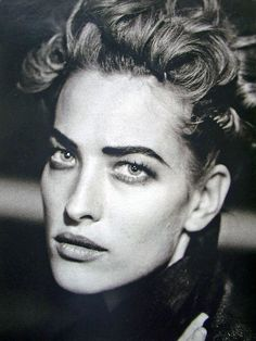 Tatjana Patitz - February 1991 - 'The German Gericht' - Marie Claire Germany - Photo by Peter Lindbergh - @~Mlle